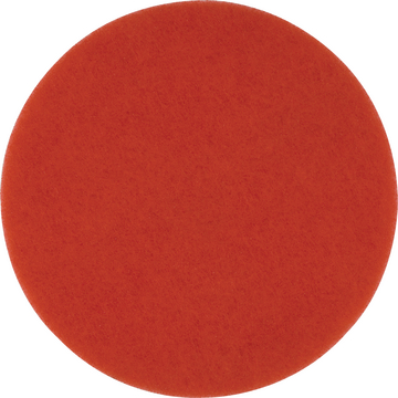 Parkettpad Ø 410 mm / 20 mm rot
